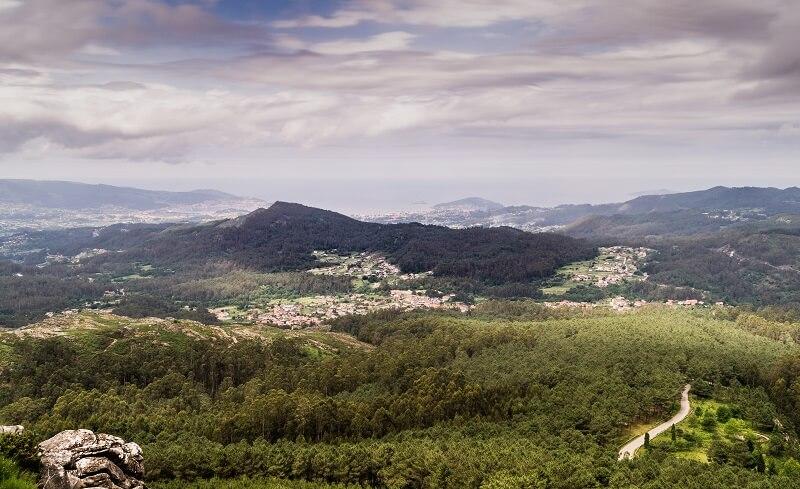 Vista desde el Galiñeiro